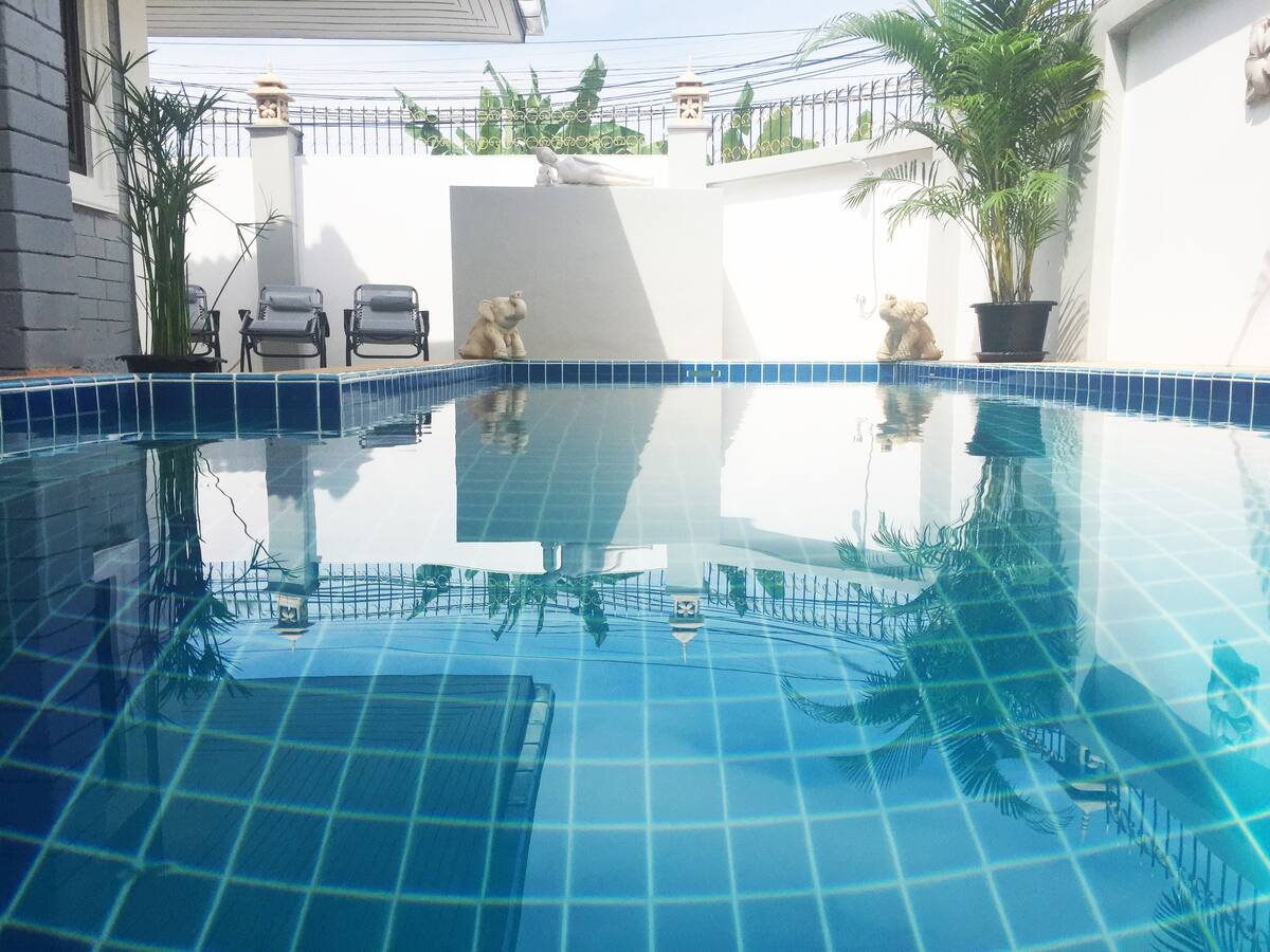 JT2254-Villa 3 Bedrooms with Private Pool near Walking Street