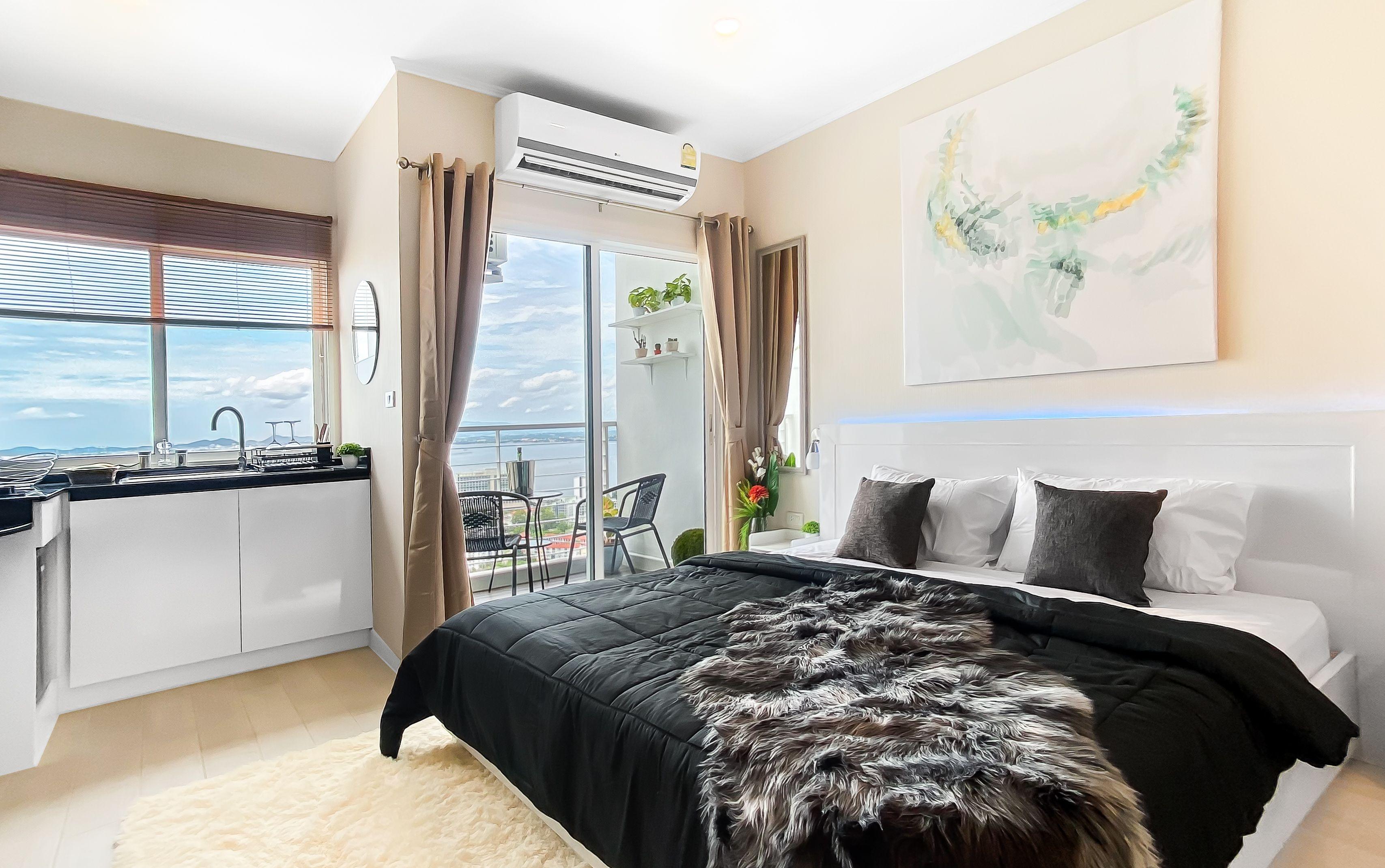 WA2294 –  Studio with Sea view in AD Hyatt Wongamat