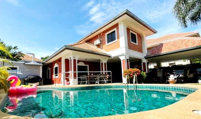 SP2297- Pool Villa in Soi Land Office, South Pattaya
